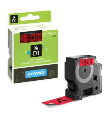 D1-Band für LabelPOINT -MANAGER schwarz rot 24mm x 7m