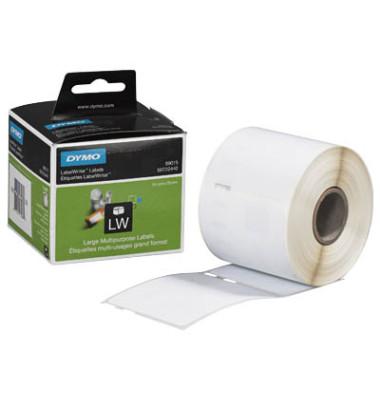 Etiketten S0722440 54 x 70 mm weiß auf Rolle 320 Stück