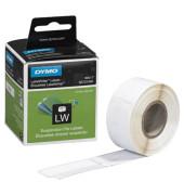 S0722460 50 x 12 mm weiß 220 Stück Etiketten auf Rolle für Hängeregister