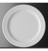 Teller Minoa flach Ø 20cm weiß Porzellan stapelbar