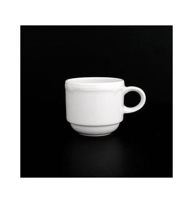 Espressotasse Minoa hoch weiß 0,09 Liter