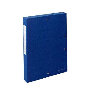 Archivbox Exabox blau 24 x 4 x 32 cm DIN A4