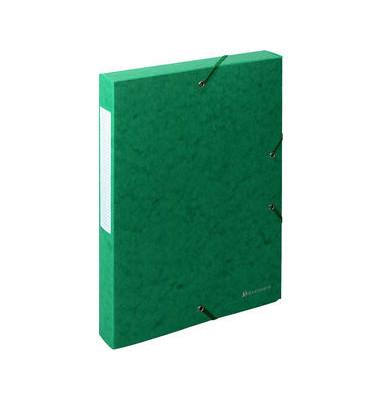 Archivbox Exabox grün 24 x 4 x 32 cm DIN A4