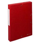 Archivbox Exabox rot 24 x 4 x 32 cm DIN A4