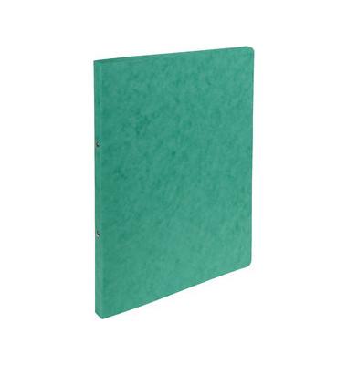 Ringbuch 54253E A4 grün 2-Ring Ø 15mm
