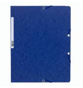 Eckspannmappe 5512E A4 400g blau
