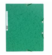 Eckspannmappe 5513E A4 400g grün