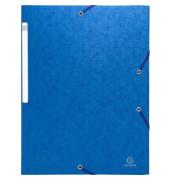 Eckspannmappe Scotten Manilakart blau 24x32cm 600g