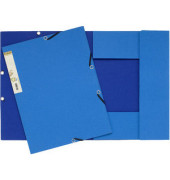Eckspannmappe 56982E Forever A4 380g blau