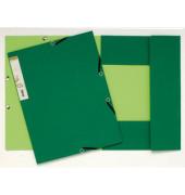 Eckspannmappe 56983E Forever A4 380g grün