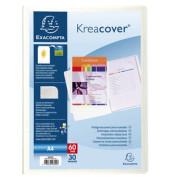 Sichtbuch Kreacover 58309E transparent A4 PP mit 30 Hüllen