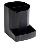 Stifteköcher MINI-OCTO 4 Fächer schwarz