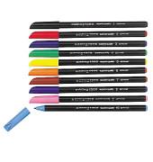 Faserschreiber 1200 10er-Etui farbig sortiert 0,5-1 mm