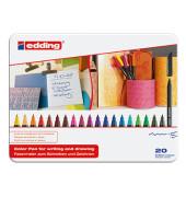 Faserschreiber 1200 20er-Etui farbig sortiert 0,5-1 mm