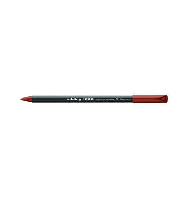 Faserschreiber 1200 braun 0,5-1 mm