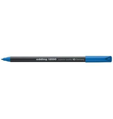 Faserschreiber 1200 hellblau 0,5-1mm