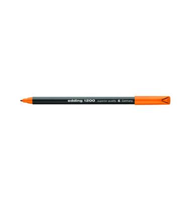 Faserschreiber 1200 orange 0,5-1 mm