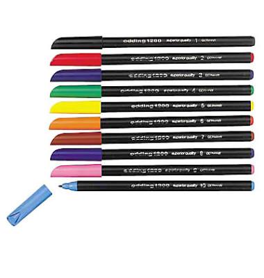 Faserschreiber 1300 sortiert 10er-Etui 3mm