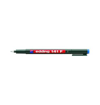 Folienstift 141 F blau 0,6 mm permanent
