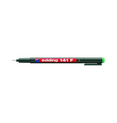 Folienstift 141 F grün 0,6 mm permanent