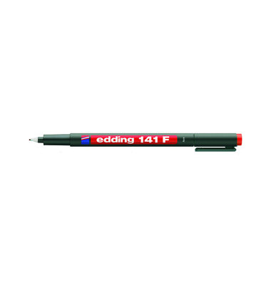 Folienstift 141 F rot 0,6 mm permanent