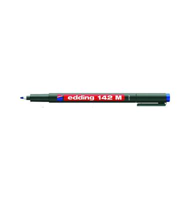 Folienstift 142 M blau 1,0 mm permanent