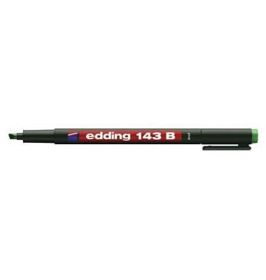 Folienstift 143 B grün 1-3 mm permanent