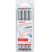 Folienstift 150 S farbig sortiert 0,3 mm 4er-Etui non-permanent