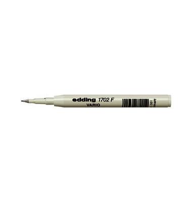 Finelinermine 1702 F Vario für 1700 Vario schwarz 0,3 mm