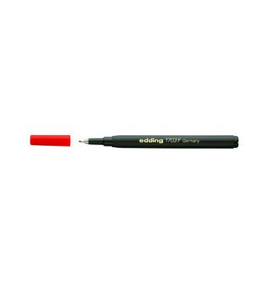 Finelinermine 1703 F für 1700 rot 0,3 mm