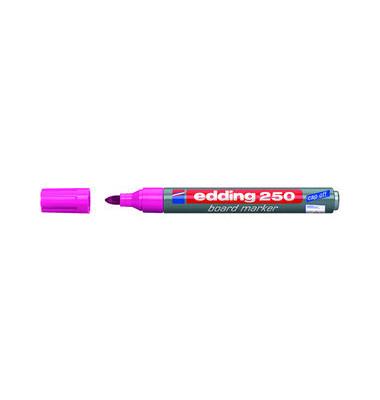 Boardmarker 250 rosa 1,5-3mm Rundspitze