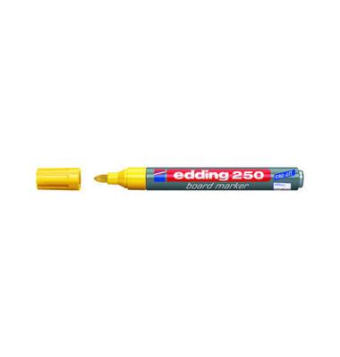 Boardmarker 250 gelb 1,5-3mm Rundspitze