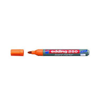 Boardmarker 250 orange 1,5-3mm Rundspitze