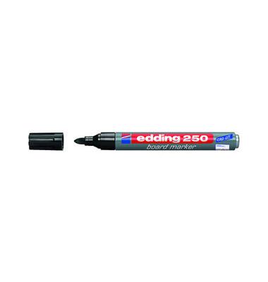 Boardmarker 250 schwarz 1,5-3mm Rundspitze
