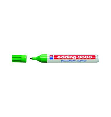 Permanentmarker 3000 grün 1,5-3mm Rundspitze