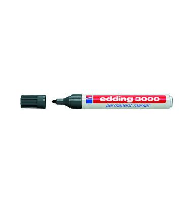 Permanentmarker 3000 grau 1,5-3mm Rundspitze