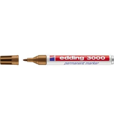 Permanentmarker 3000 ocker 1,5-3mm Rundspitze