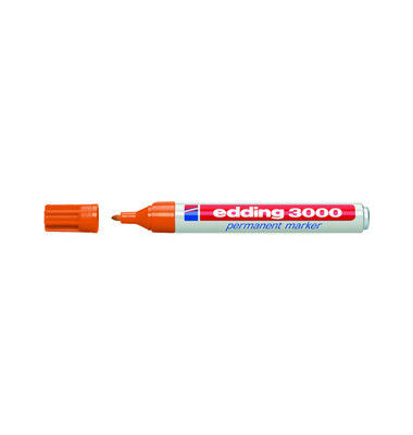 Permanentmarker 3000 orange 1,5-3mm Rundspitze