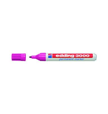 Permanentmarker 3000 rosa 1,5-3mm Rundspitze