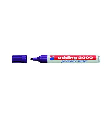 Permanentmarker 3000 violett 1,5-3mm Rundspitze