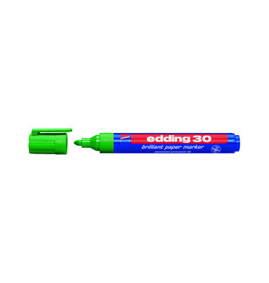 Permanentmarker 30 grün 1,5-3mm Rundspitze