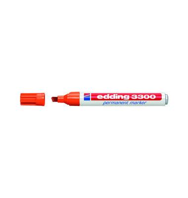 Permanentmarker 3300 orange 1-5mm Keilspitze