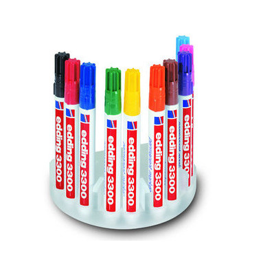 Permanentmarker 3300 10er Etui farbig sortiert 1-5mm Keilspitze