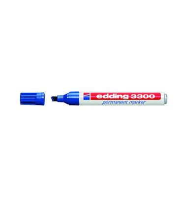 Permanentmarker 3300 blau 1-5mm Keilspitze