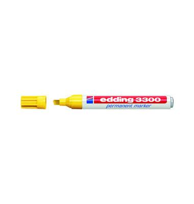Permanentmarker 3300 gelb 1-5mm Keilspitze