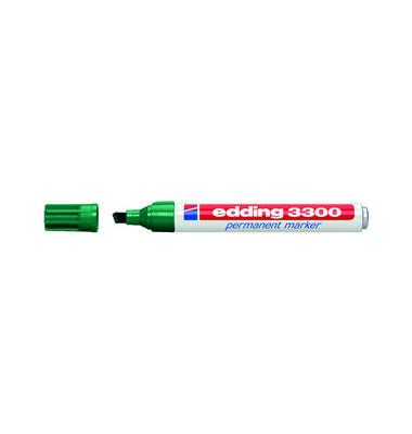 Permanentmarker 3300 grün 1-5mm Keilspitze