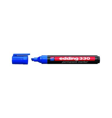 Permanentmarker 330 blau 1-5mm Keilspitze