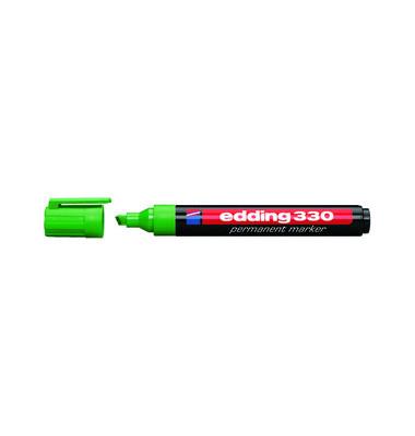 Permanentmarker 330 grün 1-5mm Keilspitze