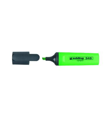 Textmarker 345 hellgrün 2-5mm Keilspitze