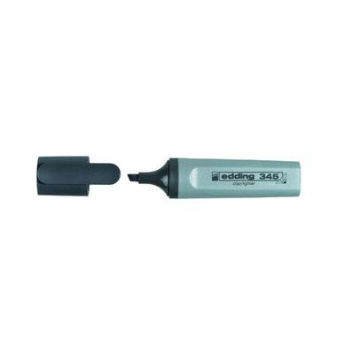 Textmarker 345 grau 2-5mm Keilspitze